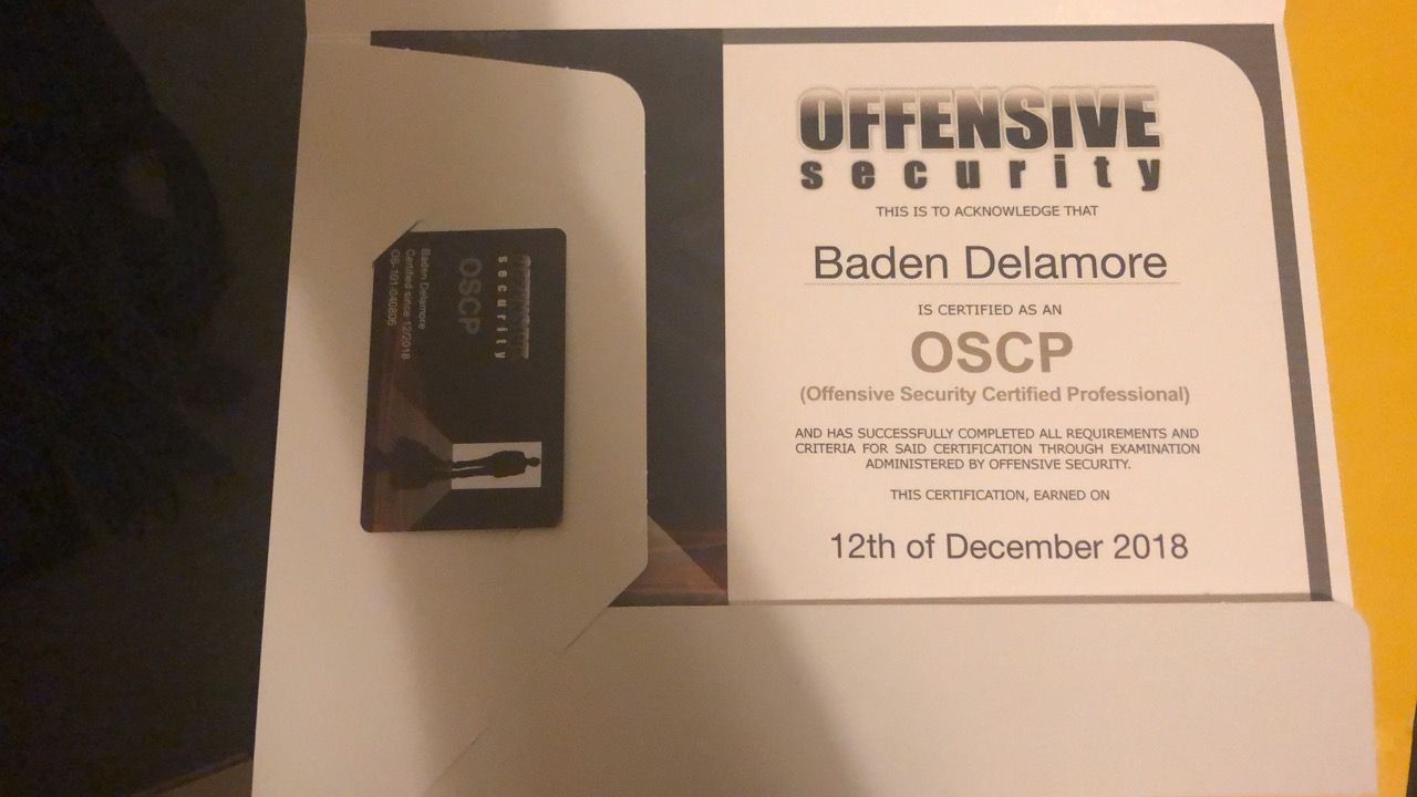 Preparation and Passing the OSCP Exam (Proctored)